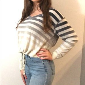 Young Fabulous and Broke cropped long sleeve top